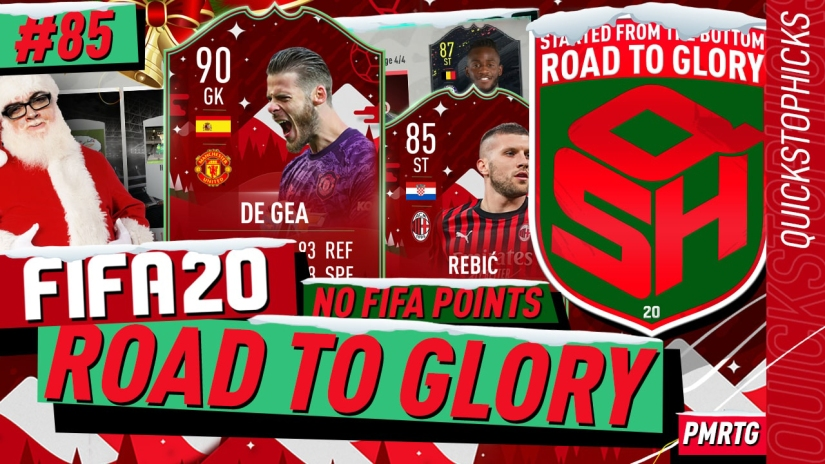 FIFA 20 ROAD TO GLORY YOUTUBE VIDEO FIFA 20 ULTIMATE TEAM ROAD TO GLORY EPISODE 85 QUICKSTOPHICKS FIFA 20 FUTMAS TOTY NOMINEES CARD TOP 100 FUT CHAMPIONS REWARDS