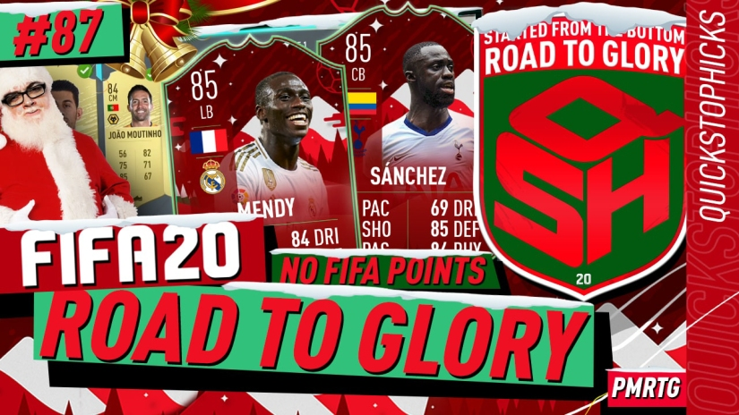 FIFA 20 ROAD TO GLORY YOUTUBE VIDEO FIFA 20 ULTIMATE TEAM ROAD TO GLORY EPISODE 87 QUICKSTOPHICKS FIFA 20 FUTMAS SBC FIFA 20 FUTMAS LEAK