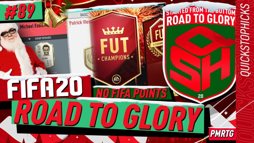 FIFA 20 ROAD TO GLORY YOUTUBE VIDEO FIFA 20 ULTIMATE TEAM ROAD TO GLORY EPISODE 89 QUICKSTOPHICKS FIFA 20 FUTMAS REWARDS ICONS SWAPS 2