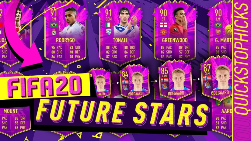 FIFA 20 FUTURE STARS PACK OPENING UPGRADEABLE CARDS