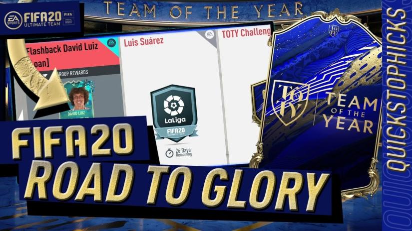 FIFA 20 TOTY TEAM OF THE YEAR FLASHBACK SBC DAVID LUIZ TOTY MIDFIELDERS