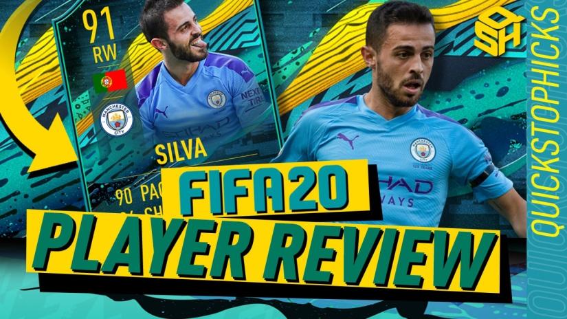 FIFA 20 ULTIMATE TEAM PLAYER REVIEW PLAYER MOMENTS BERNARDO SILVA