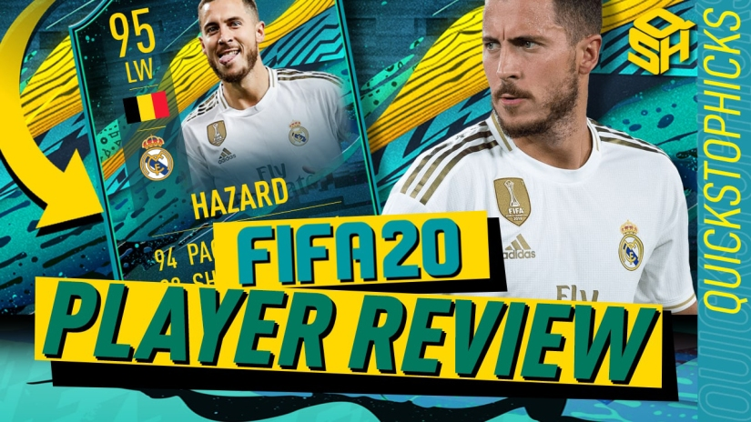 FIFA 20 ULTIMATE TEAM PLAYER REVIEW PLAYER MOMENTS EDEN HAZARD