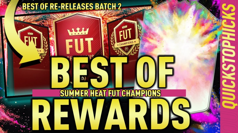 TOP 100 ROAD TO GLORY FUT CHAMPIONS REWARDS TOTSSF TOP 100 REWARDS QUICKSTOPHICKS TWITCH YOUTUBE SUMMER HEAT BEST OF RE RELEASES