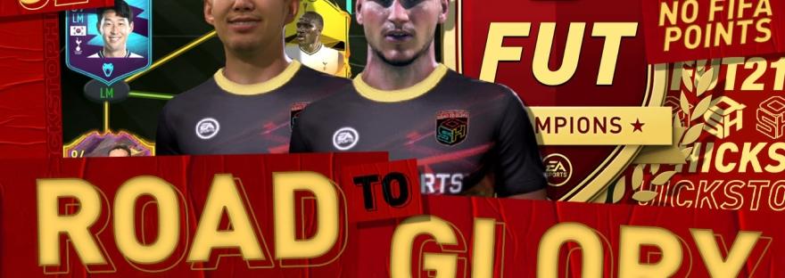FIFA 21 ROAD TO GLORY STREAM - QUICKSTOPHICKS